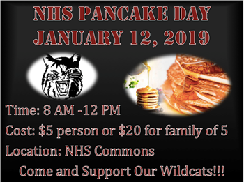 Pancake Day on Jan. 12 to support Wildcat Athletics