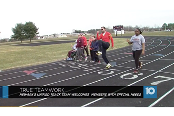 Unified Track Team featured on 10TV, Newark Advocate