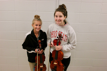 Two NHS students qualify for regional orchestra