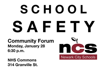 School Safety forum information