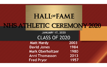 Athletic Hall of Fame 2020 inductees