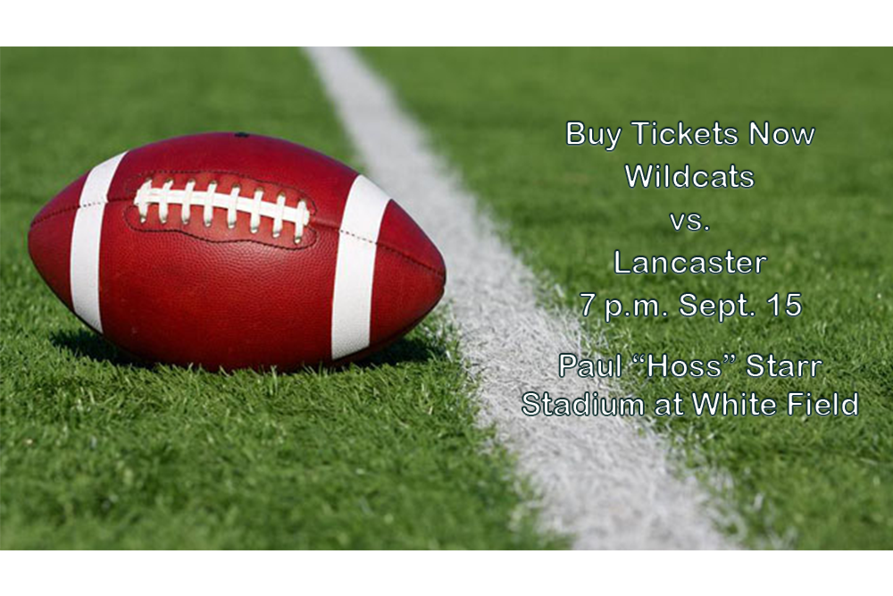 Pre-purchase tickets for Wildcat Football online