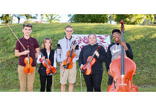 NHS regional orchestra qualifiers: Aiden Nease, Noel Zarnosky, William Chiacchira, Summer Davis, Amonie Akens