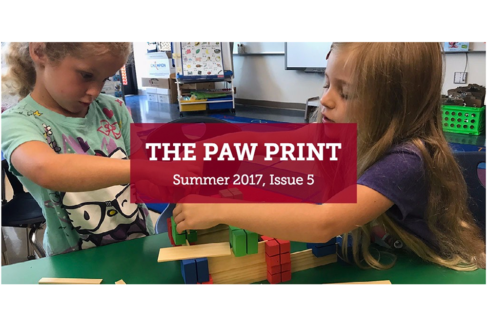 Paw Print Newsletter, Summer 2017