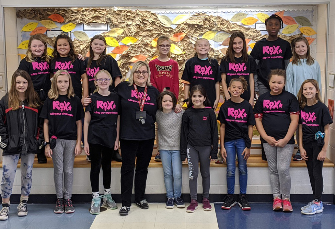 Legend 4th graders who participated in the ROX program