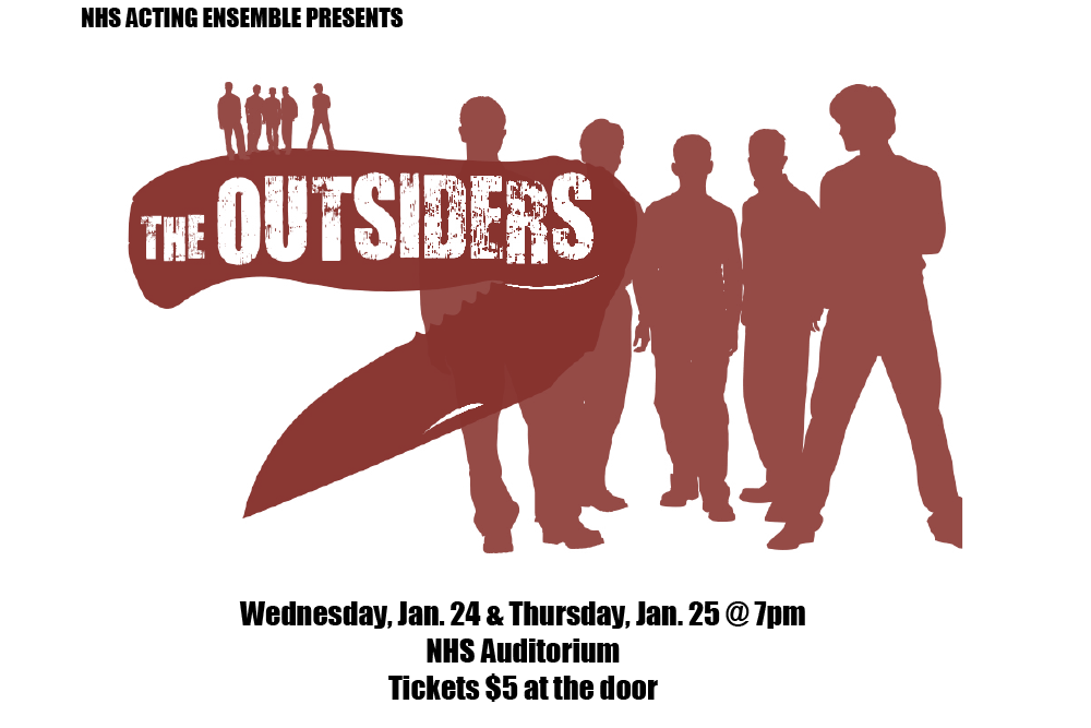 NHS Drama to perform The Outsiders Jan. 24 and 25