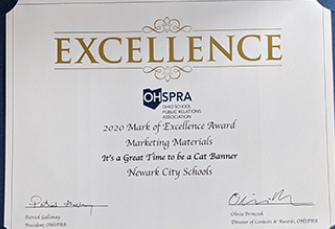 NCS receives awards from Ohio School Public Relations Association