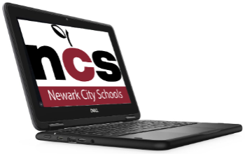 Chromebook with NCS background