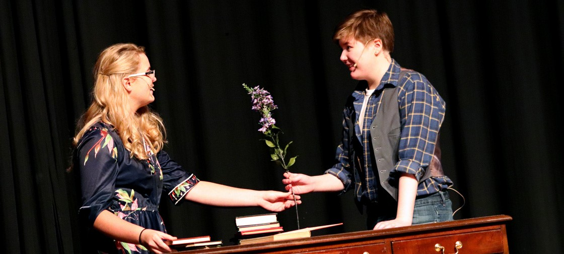 The NHS drama department presents the play Dandelion Wine