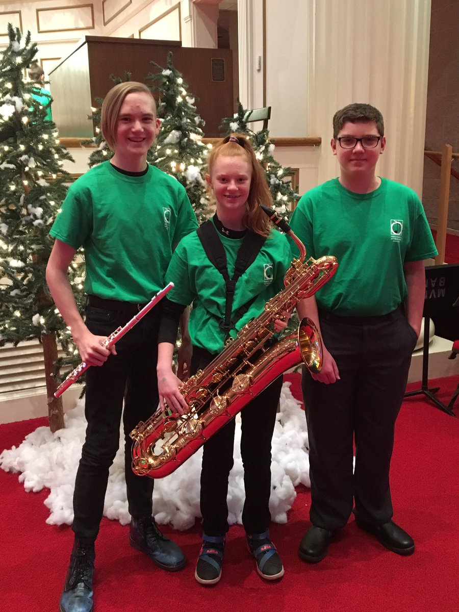 OMEA Honors Band Students