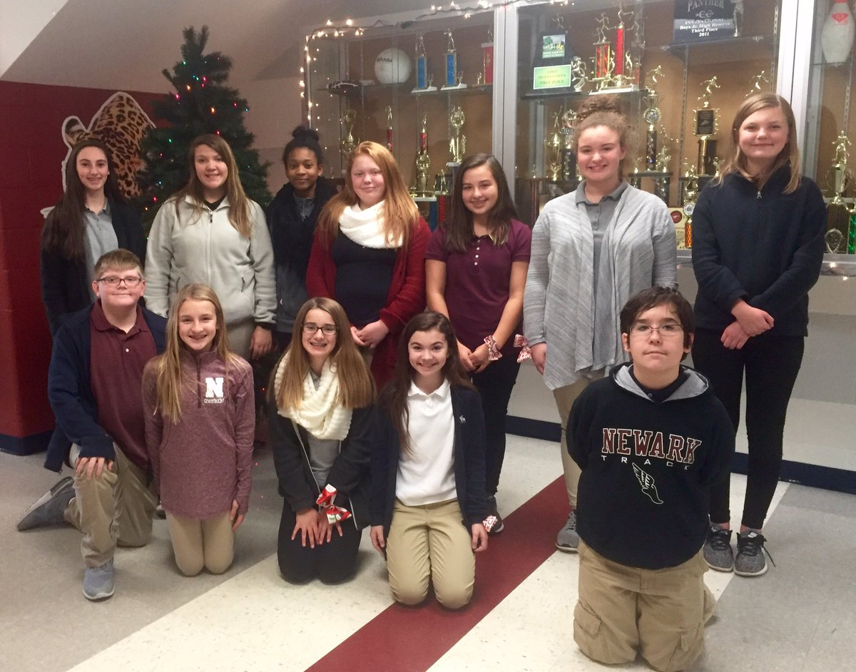 Student Council Decorated the Giving Tree