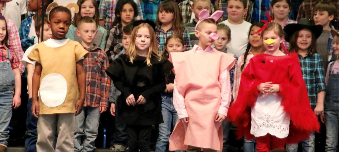 Hillvew Elementary 2nd Grade Musical, The Little Red Hen