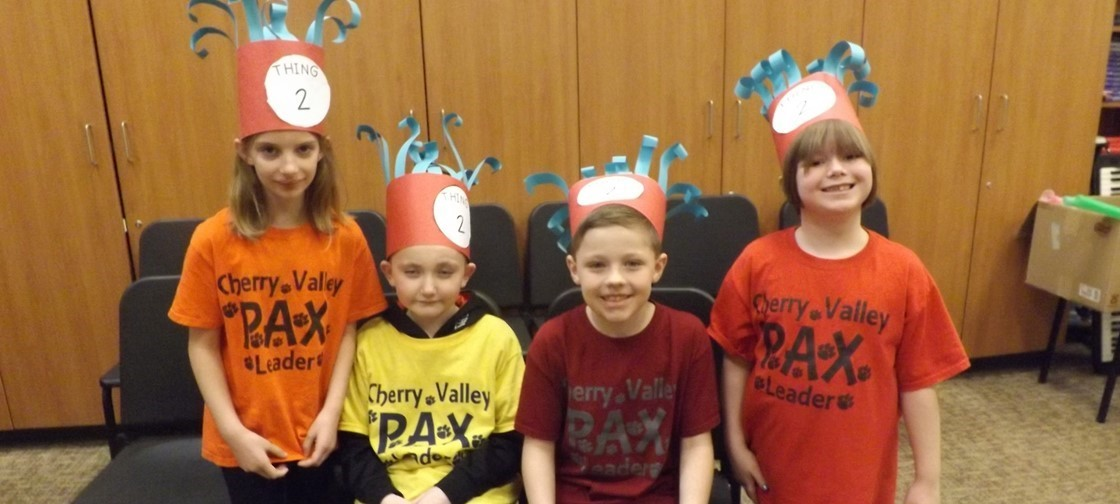 Dr. Seuss Week at Cherry Valley