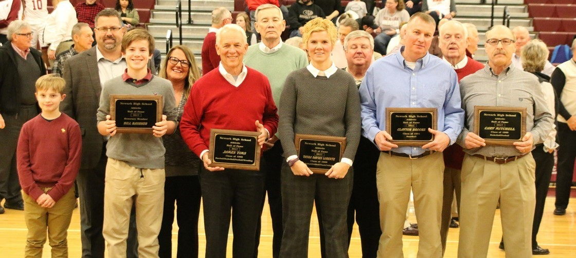 NHS Athletic Hall of Fame Class of 2017