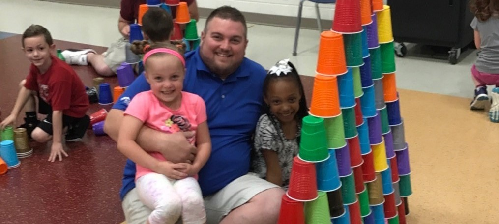 John Clem Kindergarten Donuts with Dad