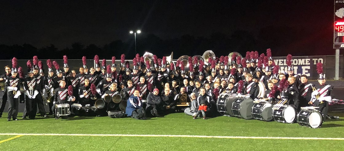 Pride of Newark 4th straight Superior rating at State