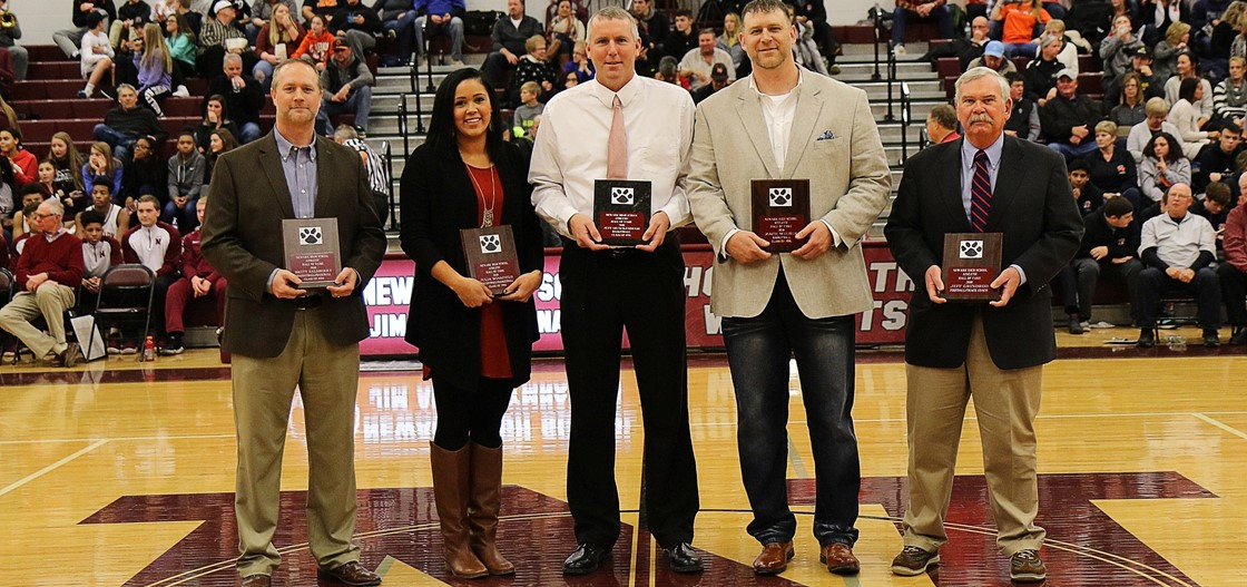 2018 Newark High School Athletic Hall of Fame Inductees