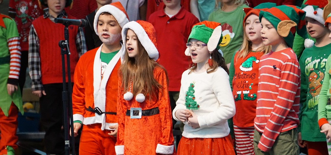 Hillview Elementary holiday Concert