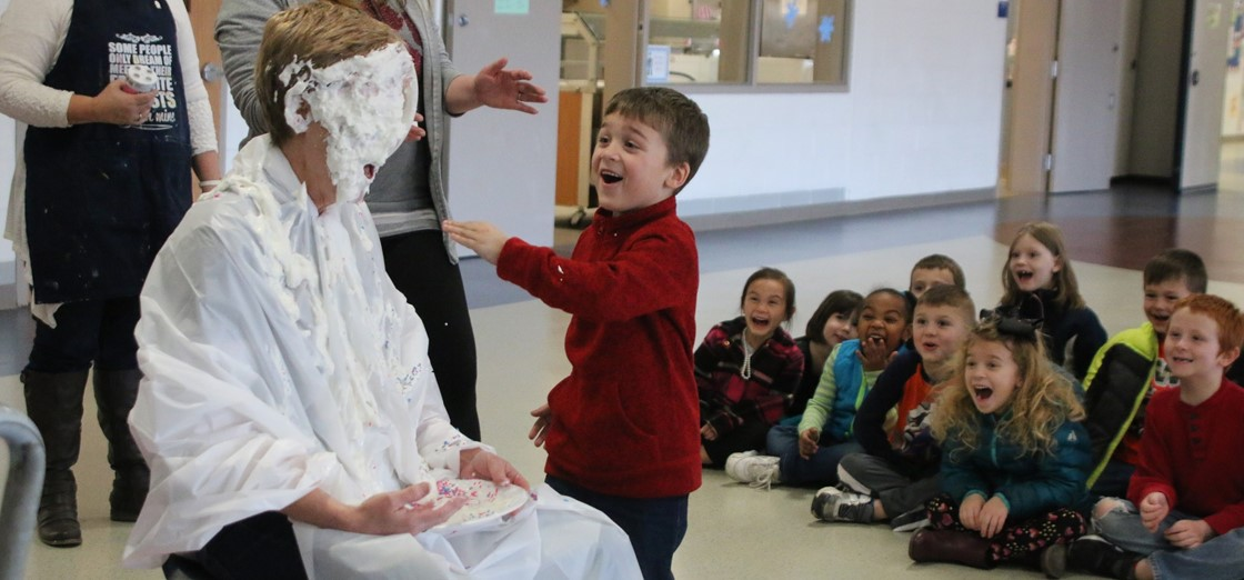 John Clem Elementary Pie the Principal to raise money for Big Brothers, Big Sisters