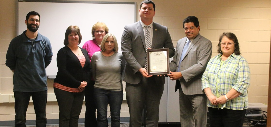 NCS receives the Auditor of State Award with Distinction