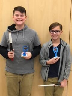 Winners of the 2018 LMS Percussion Ensemble Class Vic Firth Challenge