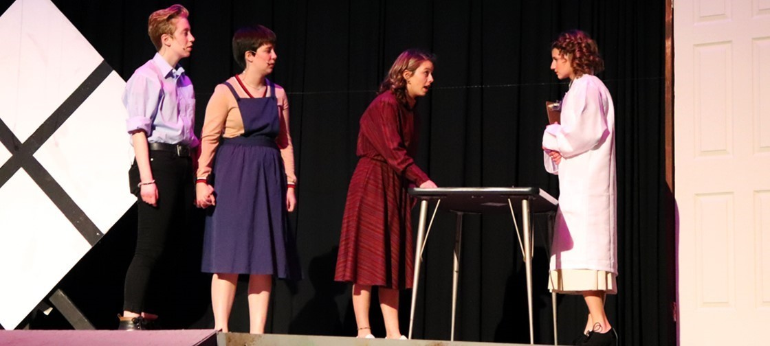 NHS Drama Presents Radium Girls as their fall 2019 play