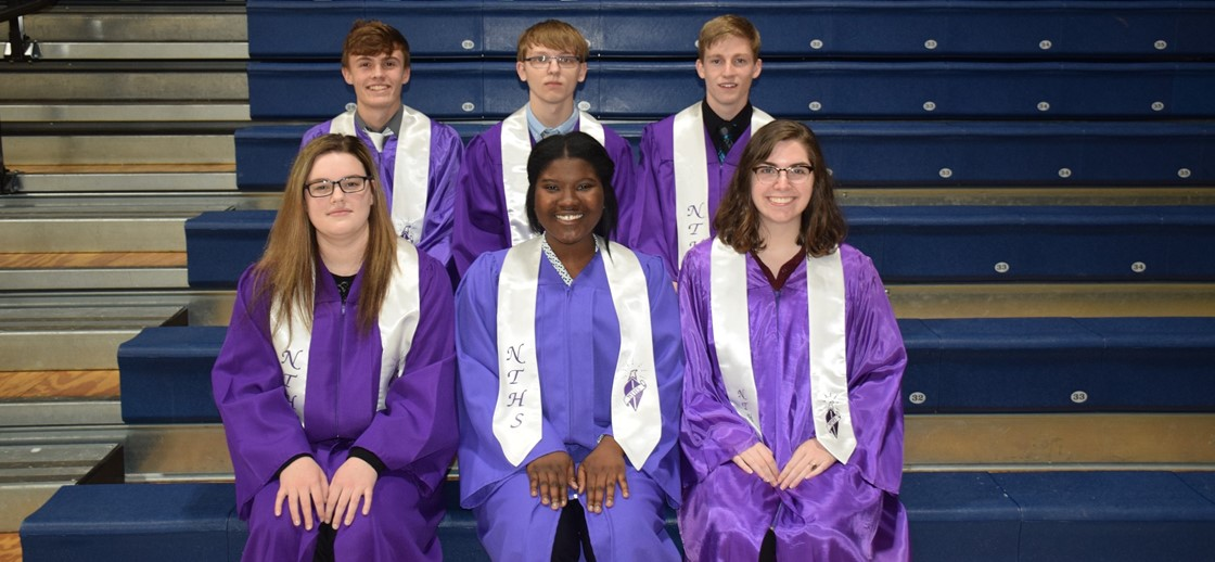 inductees into C-TEC's chapter of the National Technical Honor Society from Newark.   They are: Isaac Mason, Hannah Allspaugh, Iana Byrd, Matthew Fidler, Megan Grabo and Noah Zarnosky