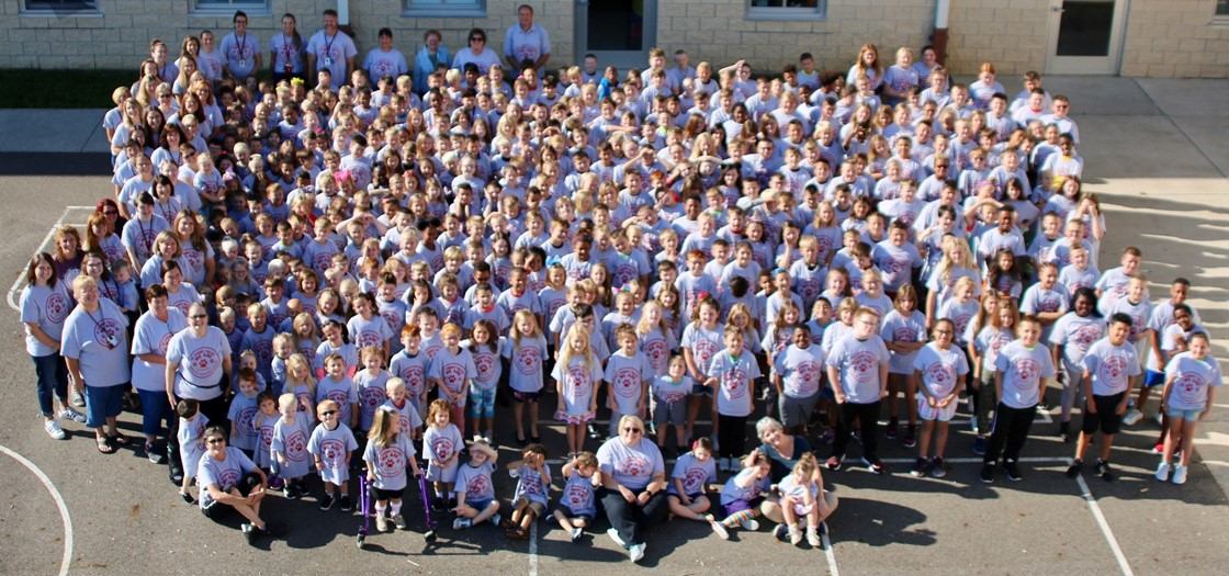 Cherry Valley Elementary School group photo