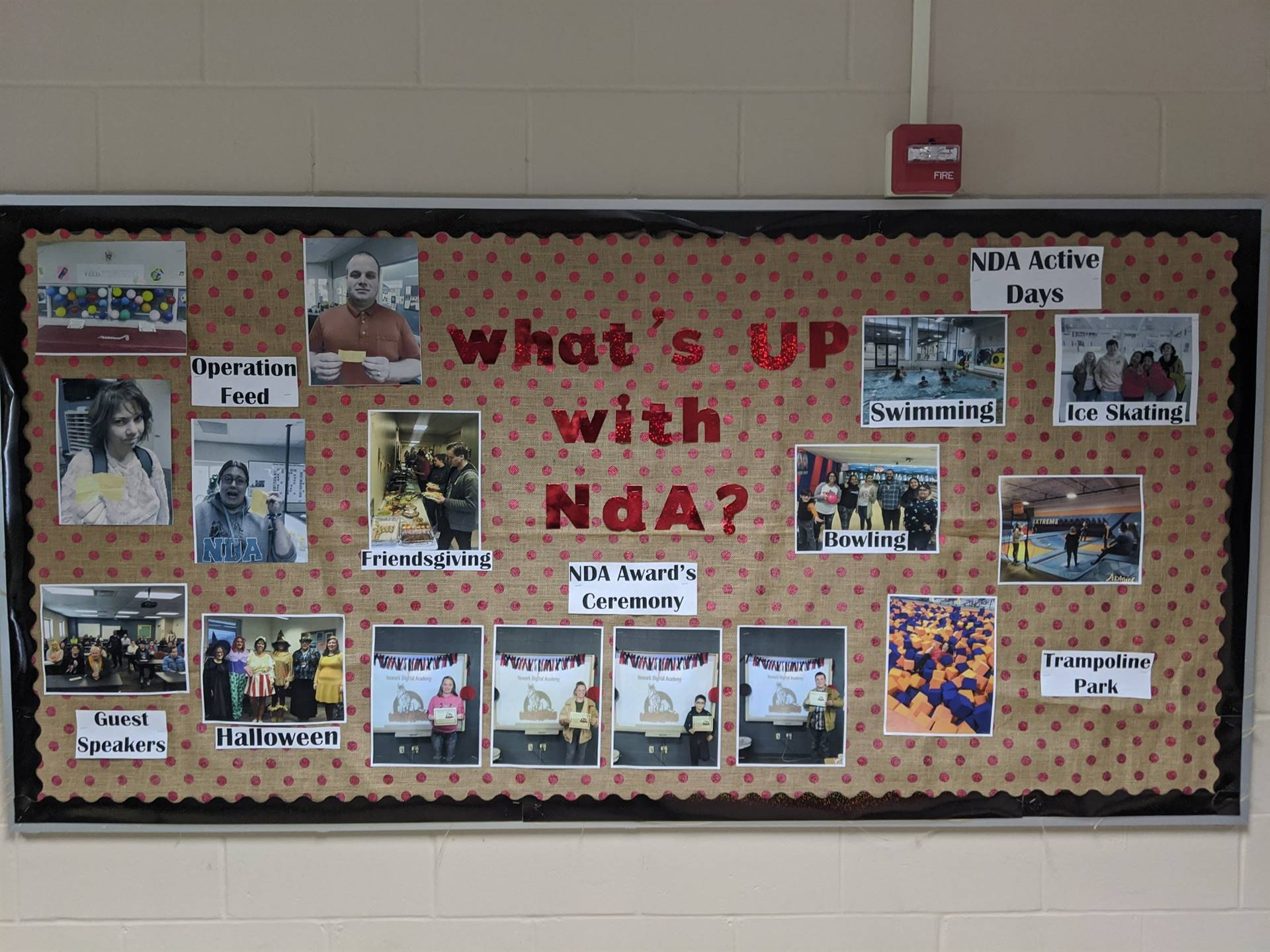 Bulletin Board at the ASC